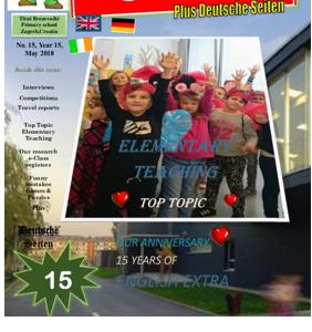 Izašao je novi broj našeg časopisa ENGLISH EXTRA