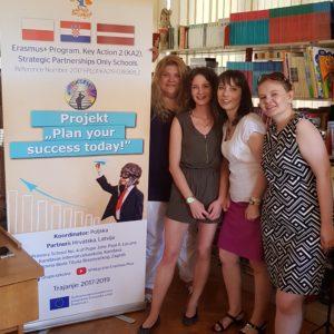 Delegacija nastavnika iz Poljske i Latvije