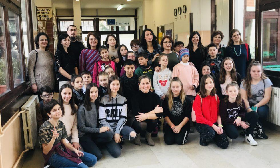 Gosti iz EU u našoj školi