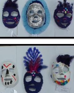Učenici 4. razreda izradili su maske za Muzej grada Zagreba
