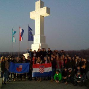 Učenici osmih razreda u Vukovaru