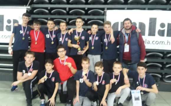Učenici osvojili prvo mjesto na županijskom natjecanju u rukometu
