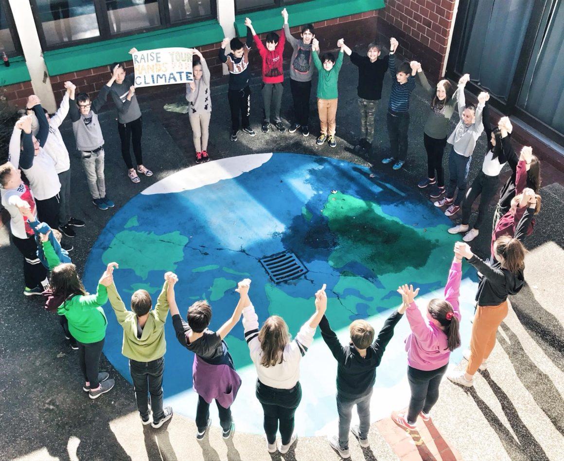 I mi smo podržali danas School Strike 4 Clime prosvjed!