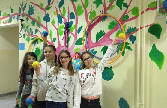 Naše učenice i njihovi roditelji , projekt ČAČKALICE