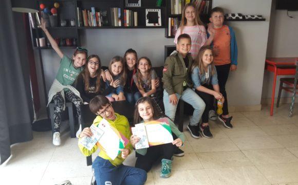 Naše učenice na 12. festivalu dječje knjige