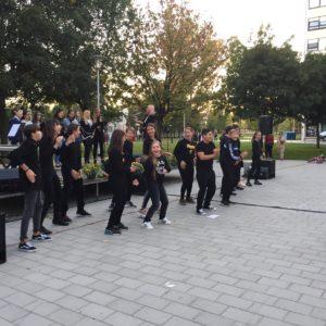 Dramsko scenska skupina nastupila na Trgu Ivana Kukuljevića