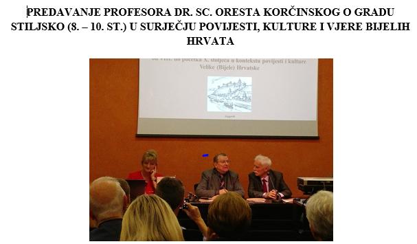 Učenici naše škole na predavanju u Matici hrvatskoj o srednjovjekovnom gradu Bijelih Hrvata