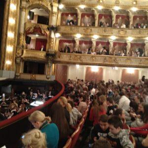 Učenici šestih razreda gledali su operu u HNK