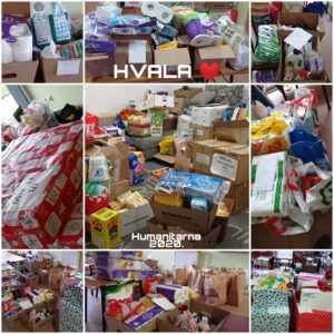 VELIKA HVALA , humanitarna akcija