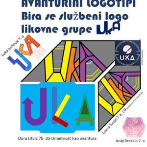 Logo Umjetnost kao avantura i drugi učenički zaštitni znakovi druge online LK