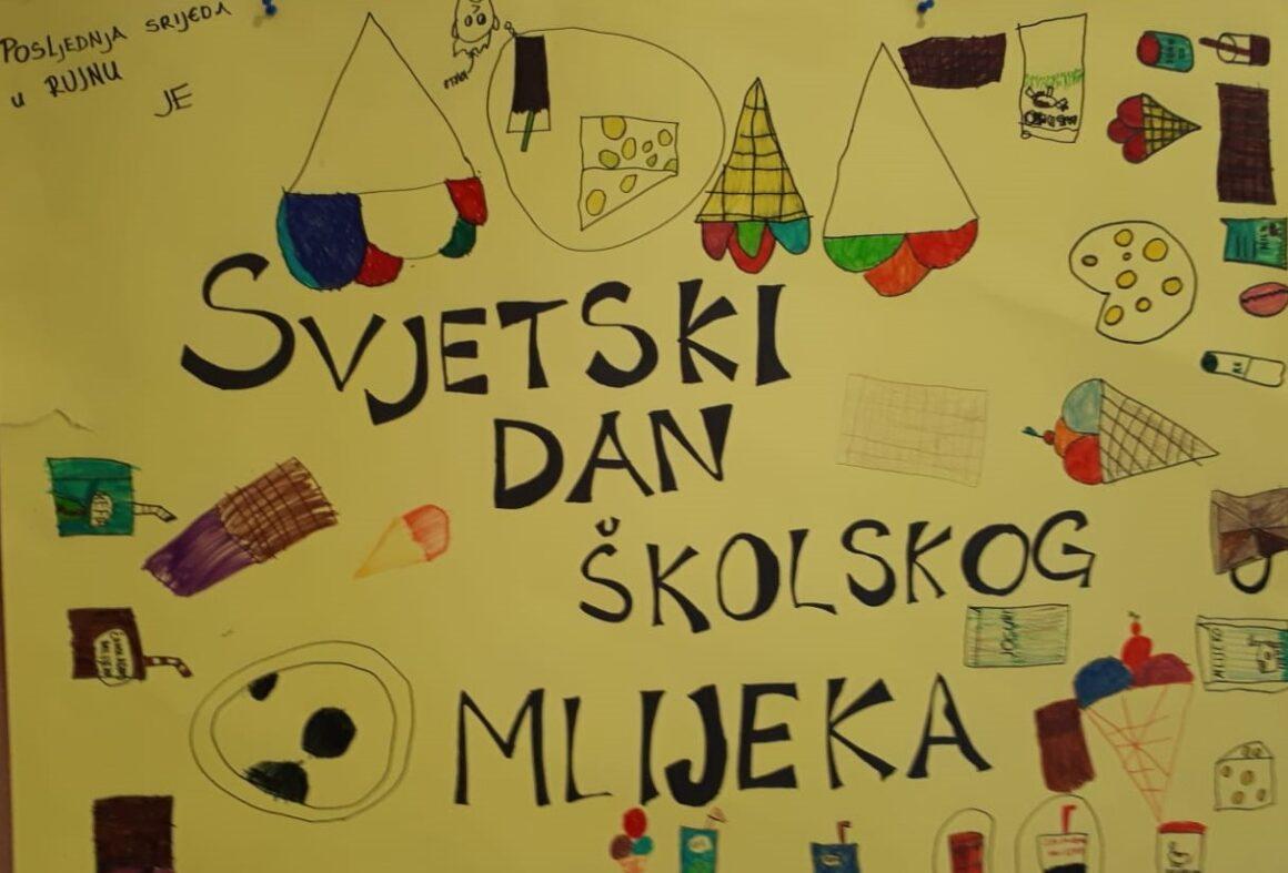 Učenici 2. razreda obilježili Svjetski dan školskog mlijeka